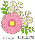 花のアイコン05_2(線画アリ) 31518175