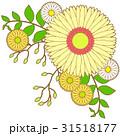 花のアイコン06_2(線画アリ) 31518177