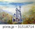ノイシュバイシュタイン城 手描きスケッチ シンデレラ城 31518714