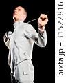 持つ フェンシング 剣術の写真 31522816