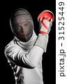接写 フェンシング 剣術の写真 31525449
