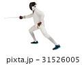 男 男性 フェンシングの写真 31526005