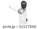 男 男性 フェンシングの写真 31527846