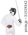 男 男性 フェンシングの写真 31529342