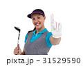 外国人 白人 白背景の写真 31529590