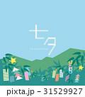 七夕 正方形 昼 文字あり 31529927