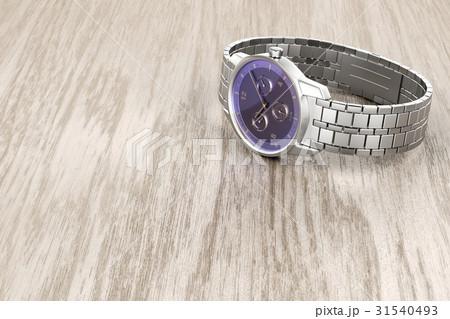 Silver wristwatch 31540493