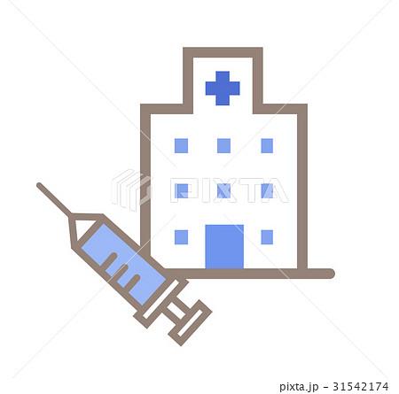 病院と注射 31542174