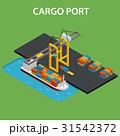 ポート 泊港 港のイラスト 31542372
