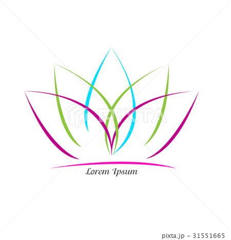 Isolated spa logoのイラスト素材 [31551665] - PIXTA