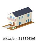 一軒家 戸建 3Dのイラスト 31559506