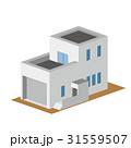 戸建 ベクター 一戸建てのイラスト 31559507