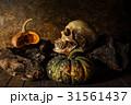 骨 死 ハロウィンの写真 31561437