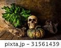 骨 死 ハロウィンの写真 31561439