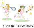 テニス女子2パターン 31561685
