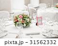 テーブル 飾り付け 円の写真 31562332