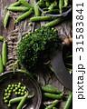 まめ エンドウ 莢豌豆の写真 31583841