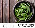 まめ エンドウ 莢豌豆の写真 31583852