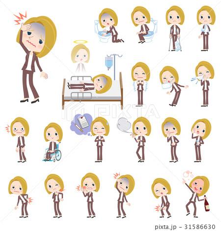 blond hair woman White sickness 31586630