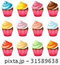set of cupcakes 31589638