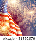 Fireworks background for 4th of July Independense 31592679