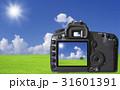 デジカメ デジタルカメラ モニターのイラスト 31601391