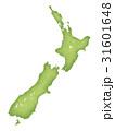 ニュージーランドの地図 31601648