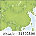中国とその周辺の地図 31602300