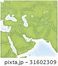 西アジアとその周辺の地図 31602309