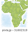 アフリカとその周辺の地図 31602319
