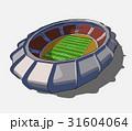 競技場 サッカー 試合のイラスト 31604064