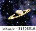 宇宙銀河と土星 31608619