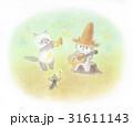 麦わら帽子をかぶった猫・音楽会 31611143