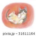黒白の子猫 31611164