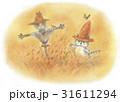 麦わら帽子をかぶった猫・実りの頃 31611294