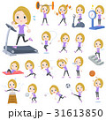 blond hair woman Sports & exercise 31613850