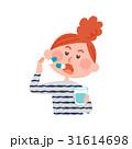 薬を服用する女性 31614698
