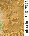 阿蘇山の地形 31617397