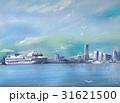 風景 海 船のイラスト 31621500