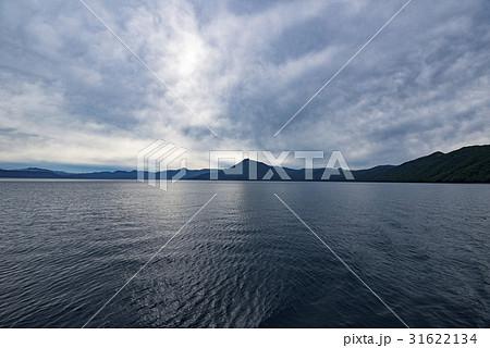 北海道 支笏湖 曇り 31622134
