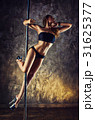 Young pole dance woman 31625377