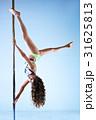 Slim pole dance woman 31625813