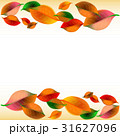 Abstract background with colorful autumn leaves 31627096