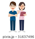 男性 女性 介護福祉士のイラスト 31637496