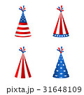 Set Party Hats with Flag of the United States of 31648109