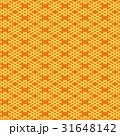 井筒割菱 模様 和柄のイラスト 31648142