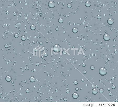 Dew drops of water seamless background 31649226