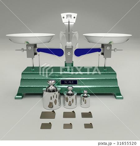 上皿天秤のイラスト素材 31655520 Pixta