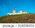 ロカ岬 灯台 青空の写真 31658454