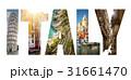 イタリア 貼り絵 トラベルの写真 31661470